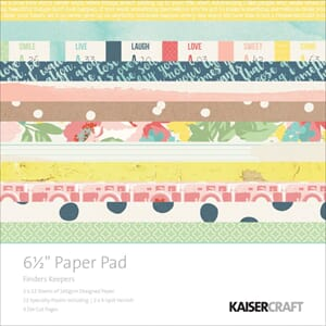 Kaisercraft: Finders Keepers Paper Pad, 40/Pkg
