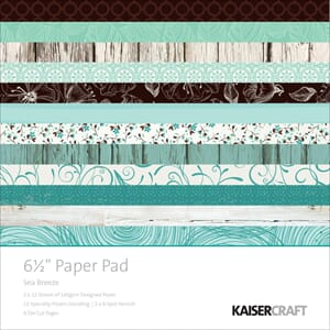 Kaisercraft: Sea Breeze Paper Pack, 40/Pkg