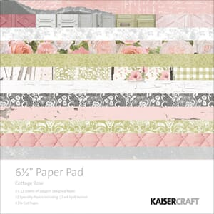 Kaisercraft: Cottage Rose Paper Pack, 40/Pkg