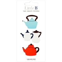 Little B: Teapots Tabs 120/Pkg