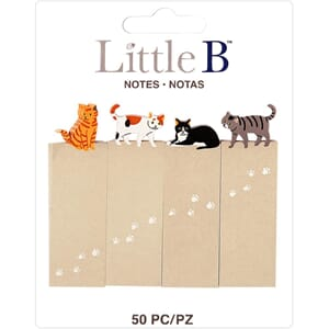 Little B: Cats Notes Tabs 120/Pkg