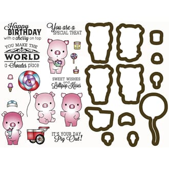 LDRS: Sweet Treats Stamp & Dies Set, 29/Pkg
