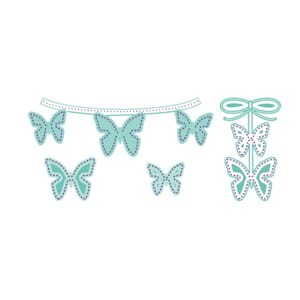LDRS: Dotted Wings Die Set, 4/Pkg
