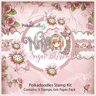 LDRS: Sugar Blossom Stamp & Paper kit