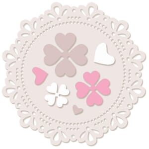LDRS: Dotty Doily Die Set, 7/Pkg