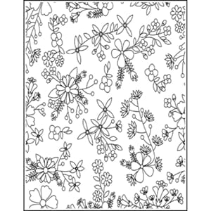 LDRS: Blooming Background Stamp, 1/Pkg