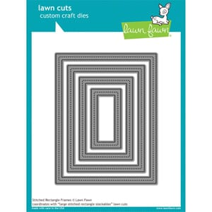 Lawn Fawn: Stitched Rectangle Frames - Lawn Cuts Die