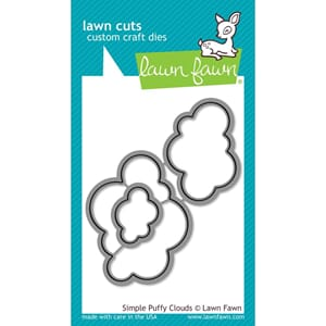 Lawn Fawn: Simple Puffy Clouds - Lawn Cuts Die
