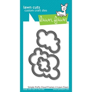 Lawn Fawn: Simple Puffy Cloud Frames - Lawn Cuts Die