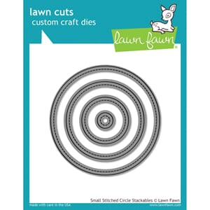 Lawn Faw: Small Stitched Circle - Lawn Cuts Custom Die