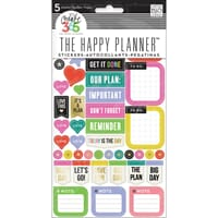 MMB: Everyday Reminders - Create 365 Planner Stickers 5 Shee
