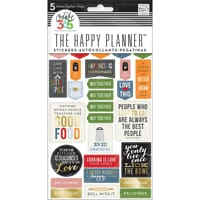 MMB: Good Food - Create 365 Planner Stickers 5 Sheets/Pkg