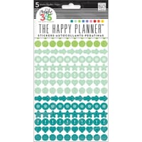 MMB: Colorful Dots - Create 365 Planner Stickers 5 Sheets/Pk