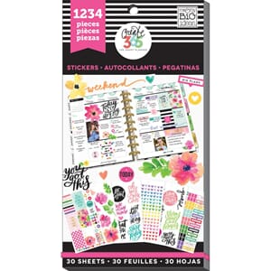 Create 365 Happy Planner - Today Is The D Sticker Value Pack