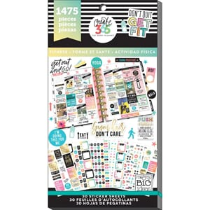 Create 365 Happy Planner - Work It Out Sticker Value Pack