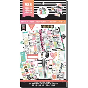 Create 365 Happy Planner - Productivity Sticker Value Pack