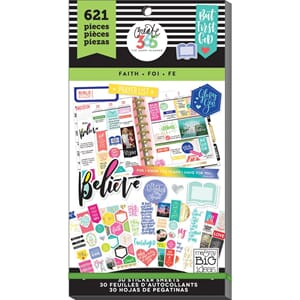 Create 365 Happy Planner - Faith Sticker Value Pack