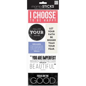 MMB: I Choose - Sayings Stickers
