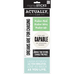 MMB: Actually I Can - Sayings Stickers