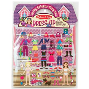 Dress-Up 76 Stickers - Puffy Sticker Play Set