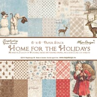 Maja Design: 6x6 paper pad - Home for the Holidays