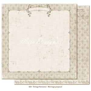 Maja Design: Marriage proposal - Vintage Romance