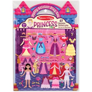 Princess 67 Stickers - Puffy Sticker Play Set