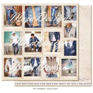 Maja Design: Guys in Jeans Snapshots - Denim & Friends
