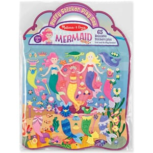 Melissa & Doug: Mermaid 65 Stickers - Puffy Sticker Play Set