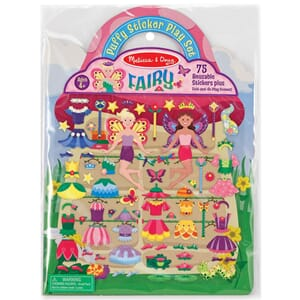 Fairy 75 stickers - Puffy Sticker Play Set
