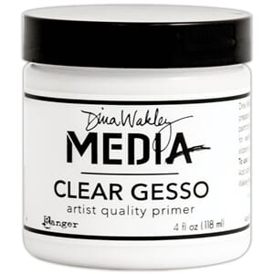 Dina Wakley: Media Clear Gesso 4oz