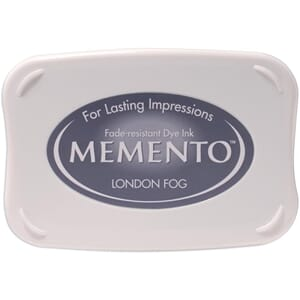 Memento Full Size Dye Inkpad - London Fog