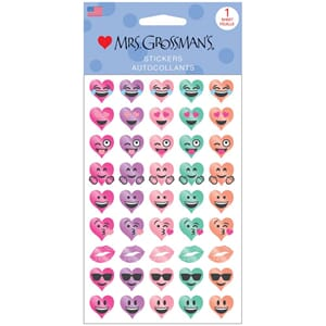 Mrs. Grossman's - Heart Emotions Stickers