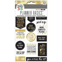 MMB: Seize The Day - Create 365 Planner Stickers 5 Sheets/Pk