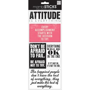 Me & My Big Ideas: Attitude Is Everything - Sayings Stickers
