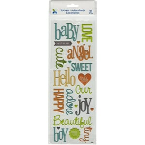 Momenta: Baby Boy - Puffy Stickers