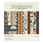 Authentique: Mysterious Cardstock Pad, 6x6 , 24/Pkg