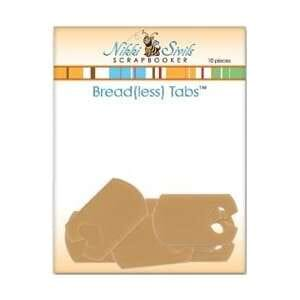 Nikki Sivils: Bread(less) Tabs - Tan 10/Pk