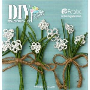 Petaloo: White - DIY Queen Annes pick