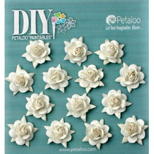 Petaloo: Rose Buds - DIY Paintables