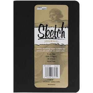 Proart - Black Softcover Sketch Journal