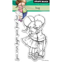 Penny Black: Hug - Clear Stamps, 3x4 inch