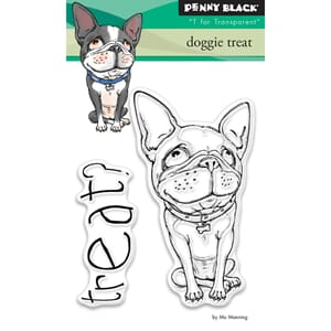 Penny Black: Doggie Treat - Clear Stamps, 3x4 inch