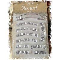 Papirdesign: Banner - Clear Stamps