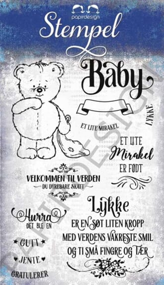 Papirdesign: Lille Mirakel - Clear stamps