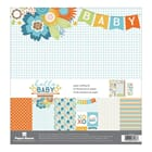 Paper House: Hello Baby Boy - Paper Crafting Kit, 12x12