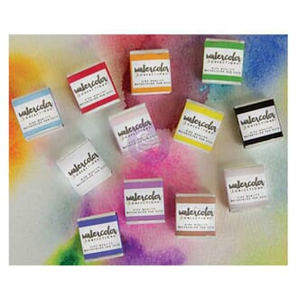 Prima: The Classics - Watercolor Confections Watercolor Pans