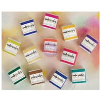 Prima: Tropicals - Watercolor Confections Watercolor Pans