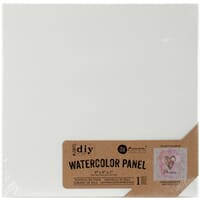 Prima: 8x8 inch Watercolor Canvas Panel, 1/Pkg