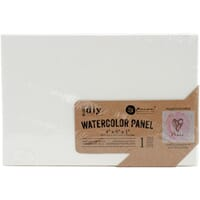 Prima: 4x6 inch Watercolor Canvas Panel, 1/Pkg
